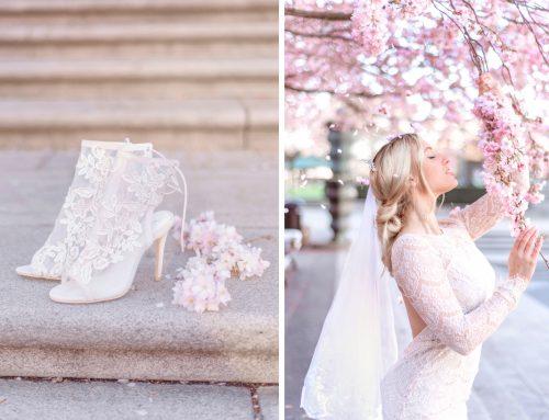 Bridal Inspiration in Cherry Blossom, Kungsträdsgården