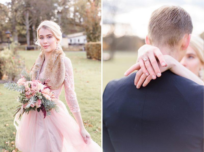Wedding Photo Blush
