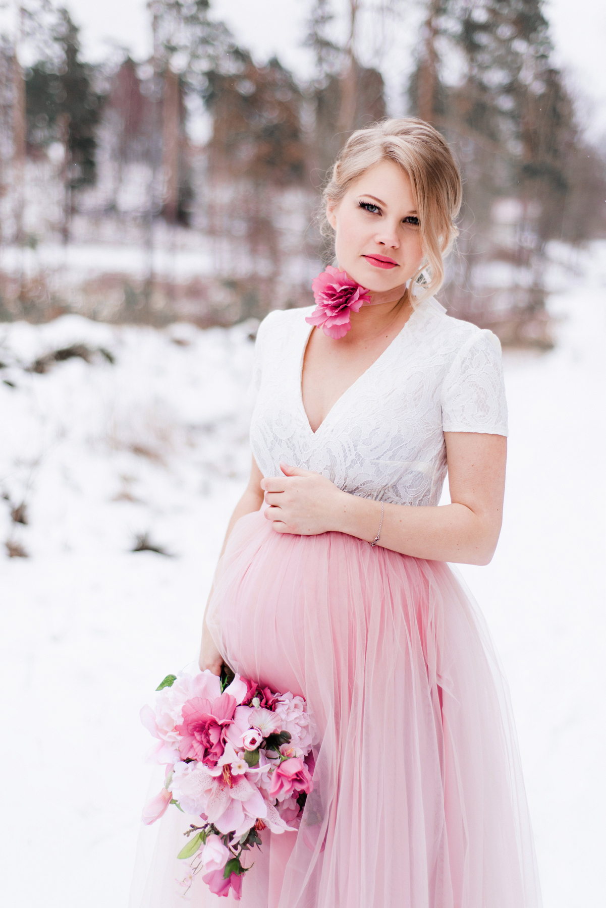 Fashion Inspired Maternity Session