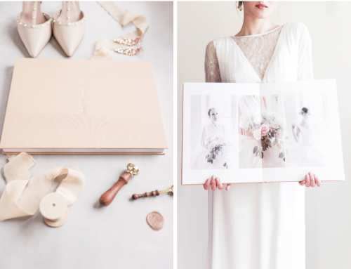 The Art Book In Pale Peach, Photobook By Art Of You Photography