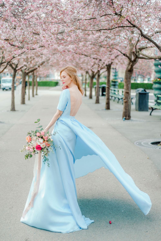 Portrait Photo Session in Cherry Blossom