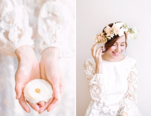 Whimsical Flower Crown by Art of You Floristics