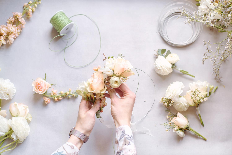Handmade Flower Crown Portrait Photography, Flower Crown by Art of You Floristics