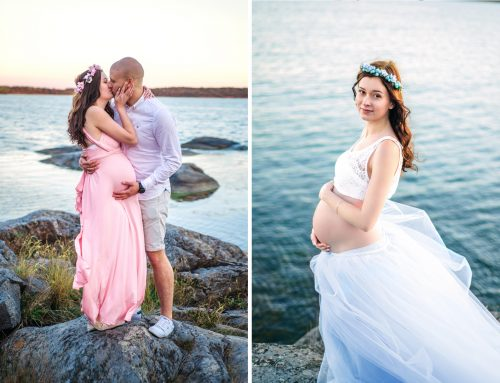 Pregnancy Photo Session By The Ocean