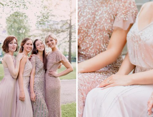 Guide to Perfectly Mismatched Bridesmaids Dresses