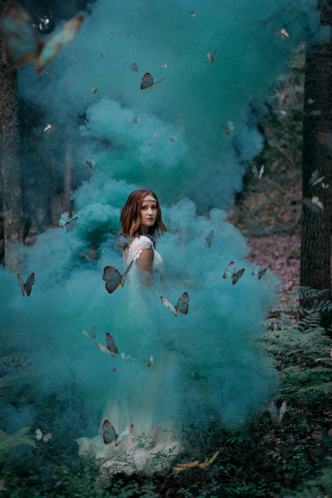 My Best Color Smoke Photo Sessions