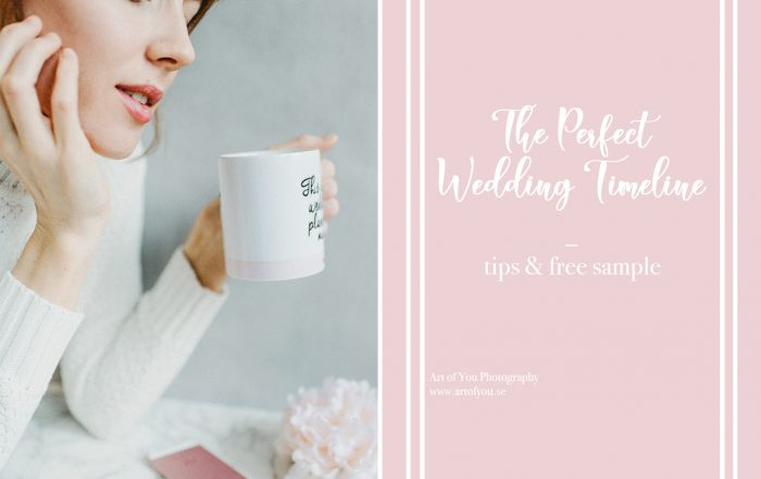 The Perfect Wedding Timeline
