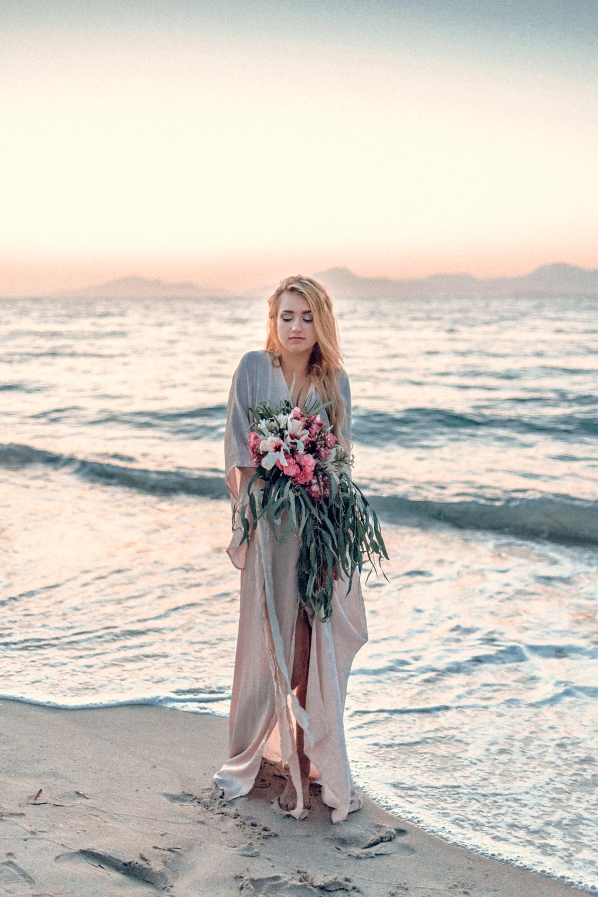 Wedding Editorial In Greece