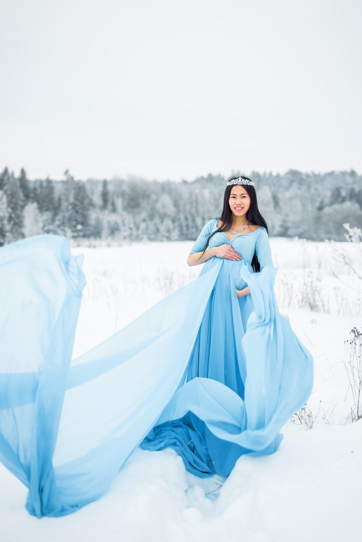 Winter Wonderland Maternity