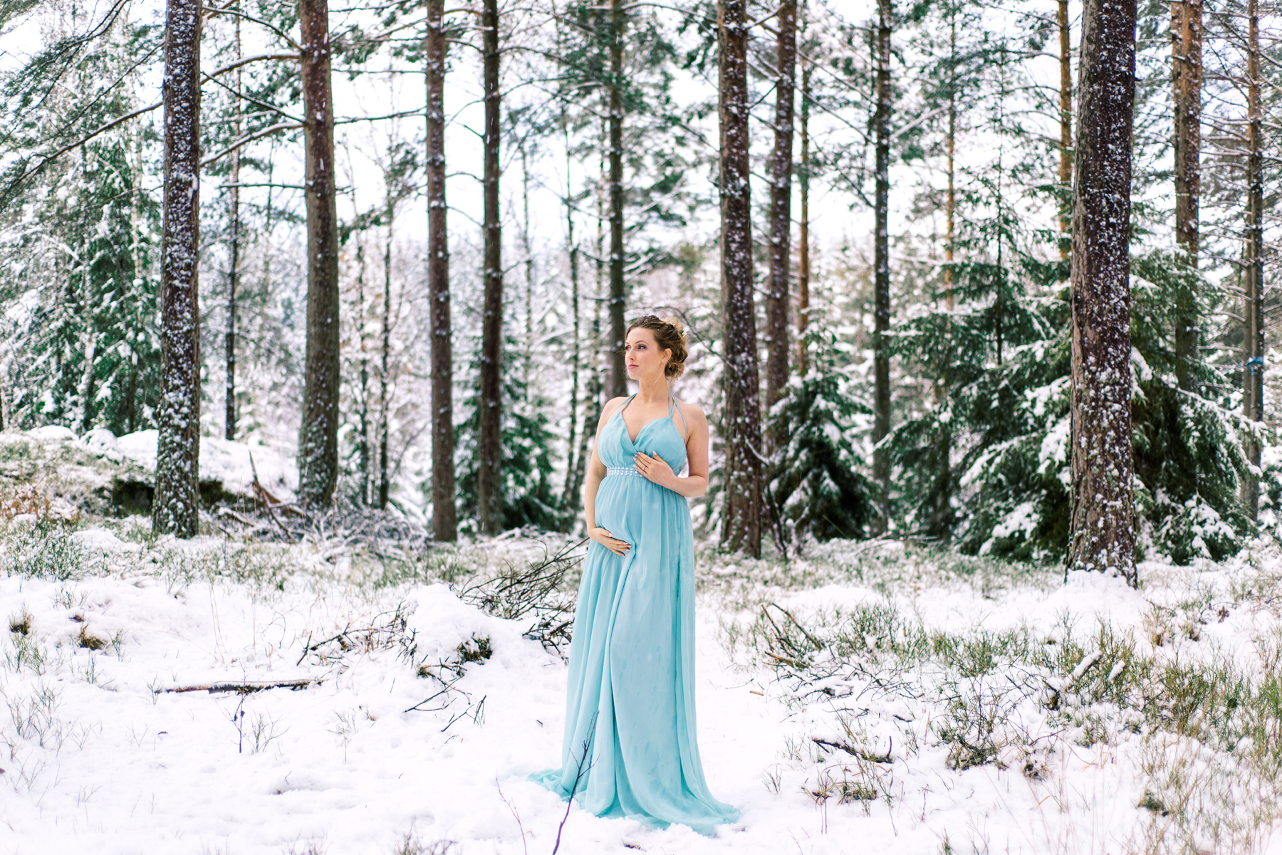 Winter Wonderland Maternity